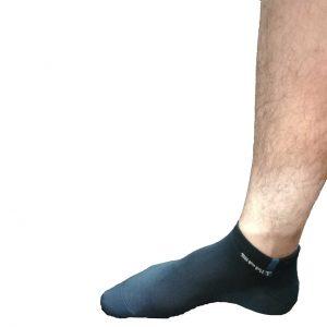 جوراب مچی گریزلی پا شده