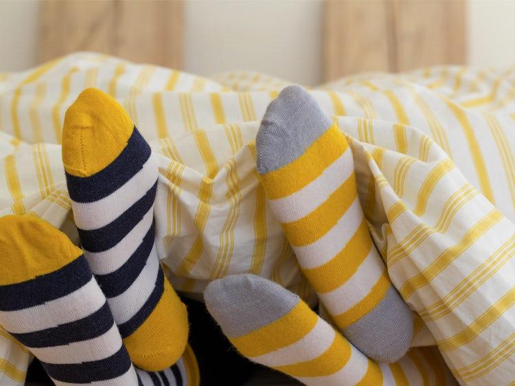 متن جایگزین جوراب پوشیدن در خواب آیا خوب است؟